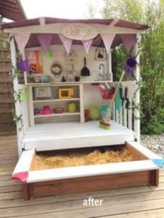 46 Outdoor Play Area Design Ideas for Kids Kids are always happy when playing. They can explore surroundings, curious about their world, and play some games they like.