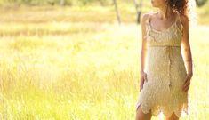 sensual moon essence dress - boho, tribal, festival, shamanic, gipsy, wedding, raw, earthy, goa, psy trance, fairy, pixie, cream, off-white Crochet Fabric, Lace Fabric, Gipsy Wedding, Lining Fabric, Trance, Goa, Body Shapes, Boho Dress, Earthy