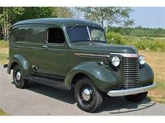 1940 Chevrolet Suburban Cargo Van - Image 1 of 11 Chevrolet Suburban, Chevrolet Trucks, Gmc Trucks, Cool Trucks, Pickup Trucks, Farm Trucks, Chevrolet Sedan, Antique Trucks, Vintage Trucks