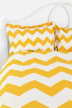 chevron shams!