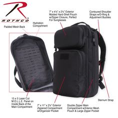 4e1b35356b  rothco  backpack  tactical  edc  everydaycarry Tactical Backpack
