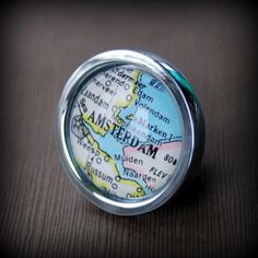 Amsterdam Drawer Pull Cabinet Knob Handle Vintage Map by DaisyMaeDesignsShop on Etsy https://www.etsy.com/listing/119414293/amsterdam-drawer-pull-cabinet-knob