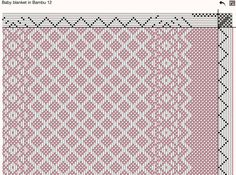 Resultado de imagen de weaving drafts for 8 shaft looms Weaving Designs, Weaving Projects, Weaving Patterns, Textile Patterns, Stitch Patterns, Knitting Patterns, Dobby Weave, Willow Weaving, Tear