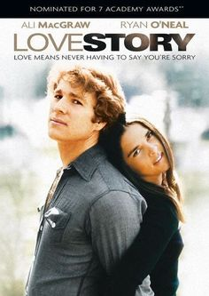 "Ali MacGraw and Ryan O'Neal in ""Love Story"" - Uma História de Amor, 1970 by Arthur Hiller (Thx Marytè) Ryan O'neal, Beau Film, Love Story Film, Old Movies, Great Movies, Movies 2019, Popular Movies, See Movie, Movie Tv"