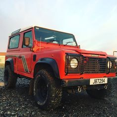 She so gorgeous  #landrover #landroverdefender #defender #defender90 #4x4 #sunset #1994 #300tdi by beanbug19 She so gorgeous  #landrover #landroverdefender #defender #defender90 #4x4 #sunset #1994 #300tdi