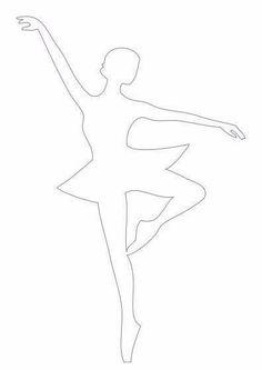 baletnica szablon