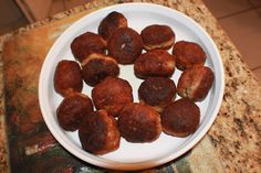 Curts Delectable Creations: Baked Lamb Appetizer Meatball Recipe