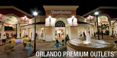 Orlando Premium Outlets - International Dr #PremiumOutlets #OrlandoPremiumOutlets #OrlandoPremiumOutletsInternational