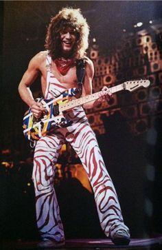 Eddie Van Halen, Diver Down Tour 1982