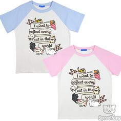 S-3XL Pink/Blue/Black Unisex Gotta Cat'em All Shirt SP166432