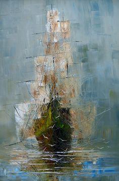 "Saatchi Online Artist: Justyna Kopania; Oil, 2013, Painting ""Mist"""