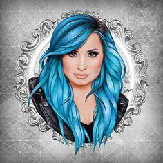 Image discovered by Willian Costa. Find images and videos about art, drawing and demi lovato on We Heart It - the app to get lost in what you love. Amazing Drawings, Cute Drawings, Amazing Art, Demi Lovato, Nicki Minaj, Colored Pencil Techniques, Celebrity Drawings, Tumblr, Abstract Drawings