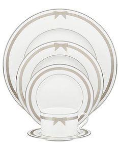 Kate Spade New York Dinnerware, Grace Avenue 5-Piece Place Setting. $139.00