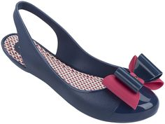 Zaxy Gift Bow - Navy - Available at www.fabflipflops.co.uk #zaxy #sandals #flipflops