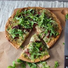 Healthy pizza! Yum
