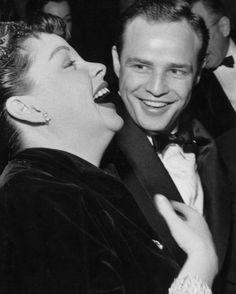 Judy Garland & Marlon Brando