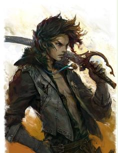 Inspiration for Isonno Rennekkie. What path is he following? #MetalShadow | ArcheAge character concept art