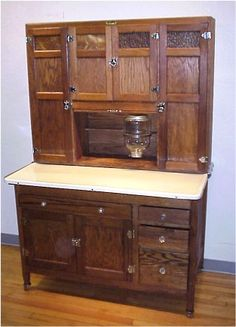 Hoosier Cabinet I Have One Much Like This That Belonged To My Great  Grandmother.