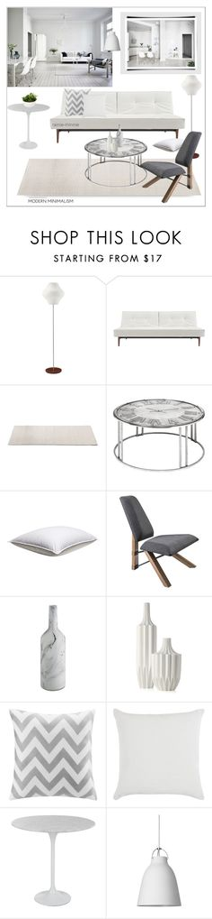 """""""Mostly White"""" by rainie-minnie ❤ liked on Polyvore featuring interior, interiors, interior design, home, home decor, interior decorating, George Nelson, Dot & Bo, Intelligent Design and John Lewis"""