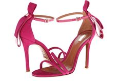 These made in Brazil true pink sandals come from Schutz summer 2014 collection. Click here to buy. Price $180.