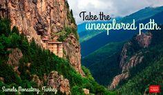 Off the beaten track, Sumela Monastery, #Turkey.