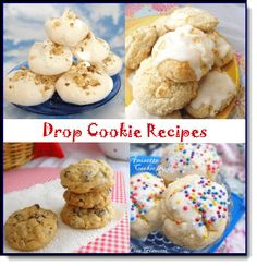 Drop cookie recipes are the eaiser Italian cookie recipes I have on my site.See over 235 Italian Dessert Recipes with photos. Drop Cookie Recipes, Italian Cookie Recipes, Italian Cookies, Italian Desserts, Cookie Desserts, Cookie Bars, My Recipes, Favorite Recipes, Drop Cookies