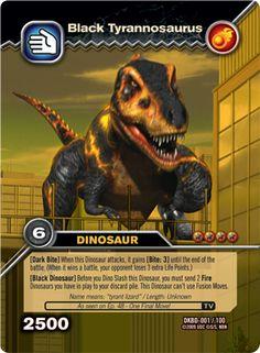 Black Tyrannosaurus