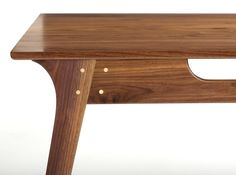 Black Walnut Dining Table by wrenandcooper on Etsy