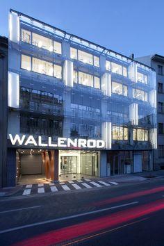 Business centrum Wallenrod_Architekti Šebo Lichý_Bratislava, Slovensko Fotograf: Tomáš Manina