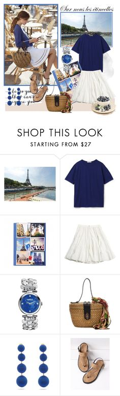 """June 27,2017"" by anny951 ❤ liked on Polyvore featuring Lacoste, Versus, Patricia Nash and Rebecca de Ravenel"
