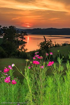 Sunset - Norris Lake, Tennessee