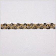"1/2"" Gold Metallic Lace"