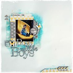 DT Blue Fern Studios - BOYS WILL BE BOYS - BY KRISTINE HENANGER