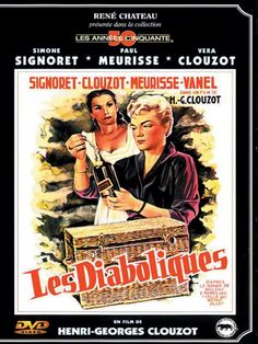 Les Diaboliques 1955 di Henri Georges Clouzot con Simone Signoret, Paul Meurisse, Vera Clouzot e Charles Vanel.