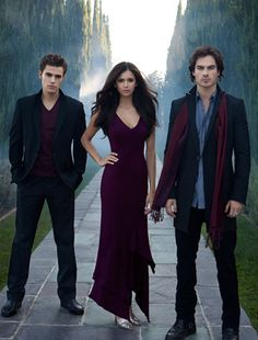 The CW: TV To Talk About - The Vampire Diaries - Thursdays 8/7c