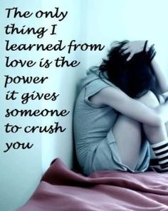 Quotes About Love Kills : + images about Love Kills Slowly... on Pinterest Broken Love Quotes ...