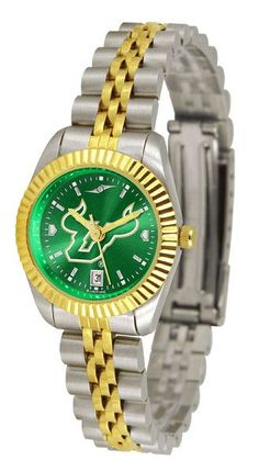 Ladies South Florida Bulls - Executive AnoChrome Watch