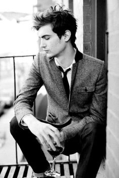 jaw line, sleek suit, where are men like this in Tyler Texas? I don't think they exist.