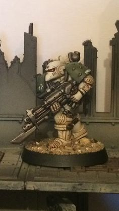 Battle Bunnies: Limited Edition Imperial Space Marine: Death Guard
