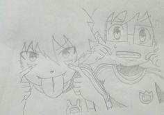 Rin y Yukio okumura 7 años