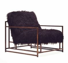sheepskin armchai by stephen kenn madetoorder designer furniture from dering hallu0027s collection of industrial traditional armchairs