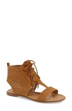 Lucky Brand 'Baari' Sandal (Women) available at #Nordstrom  Size 10...I want black but they dont have black so whatever u like most? lol