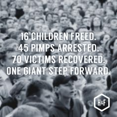 Read about this huge victory in the fight against human trafficking.