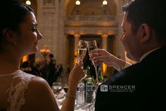 cleveland courthouse wedding reception 27