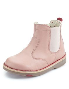 Walkmates Leather Chelsea Boots (Younger Girls) | M&S