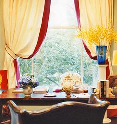 Drew Barrymore's french style office...so lovely.