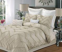 Chic Home Isabella 5-Piece Comforter Set, King, Champagne Chic Home http://www.amazon.com/dp/B00MI4U3QC/ref=cm_sw_r_pi_dp_0ar6ub1PT0TVA