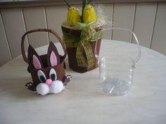 Image - Un petit panier et des minis couronnes pour Pâques . - les p'tites mains bricoleuses - Skyrock.com