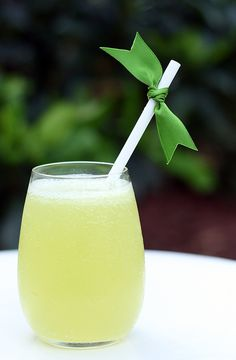 Lucky In Love | 1 cup diced ripe honeydew  1 oz vanilla vodka  1/2 oz. Cointreau  1/2 oz. Midori  3/4 oz fresh lime juice  1 tbsp roughly chopped fresh mint  at least 1/2 cup cold brut Champagne or dry sparking wine