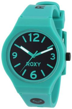 83efd954752 Roxy Ladies The Prism Analogue Watch W225BRAGRN with Polyurethane Strap   Amazon.co.uk  Watches